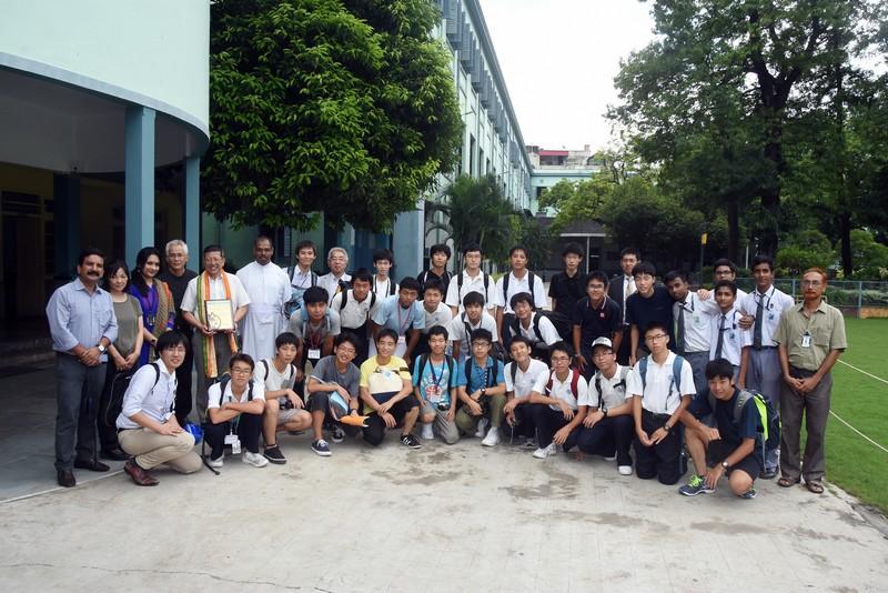 Welcome Programme for Fr.Akamatsu, S.J., Chairman of the Board of Rokko High School, Japan