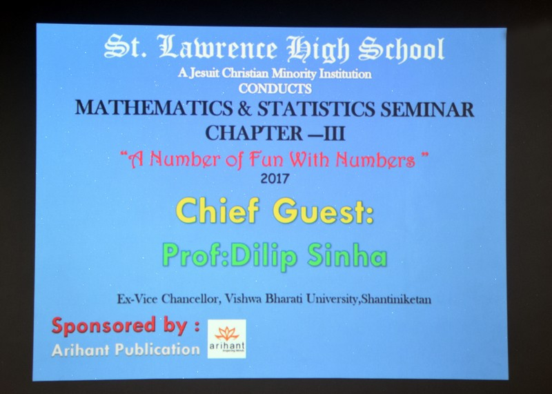 Mathematics & Statistics Seminar - Chapter III - 2017
