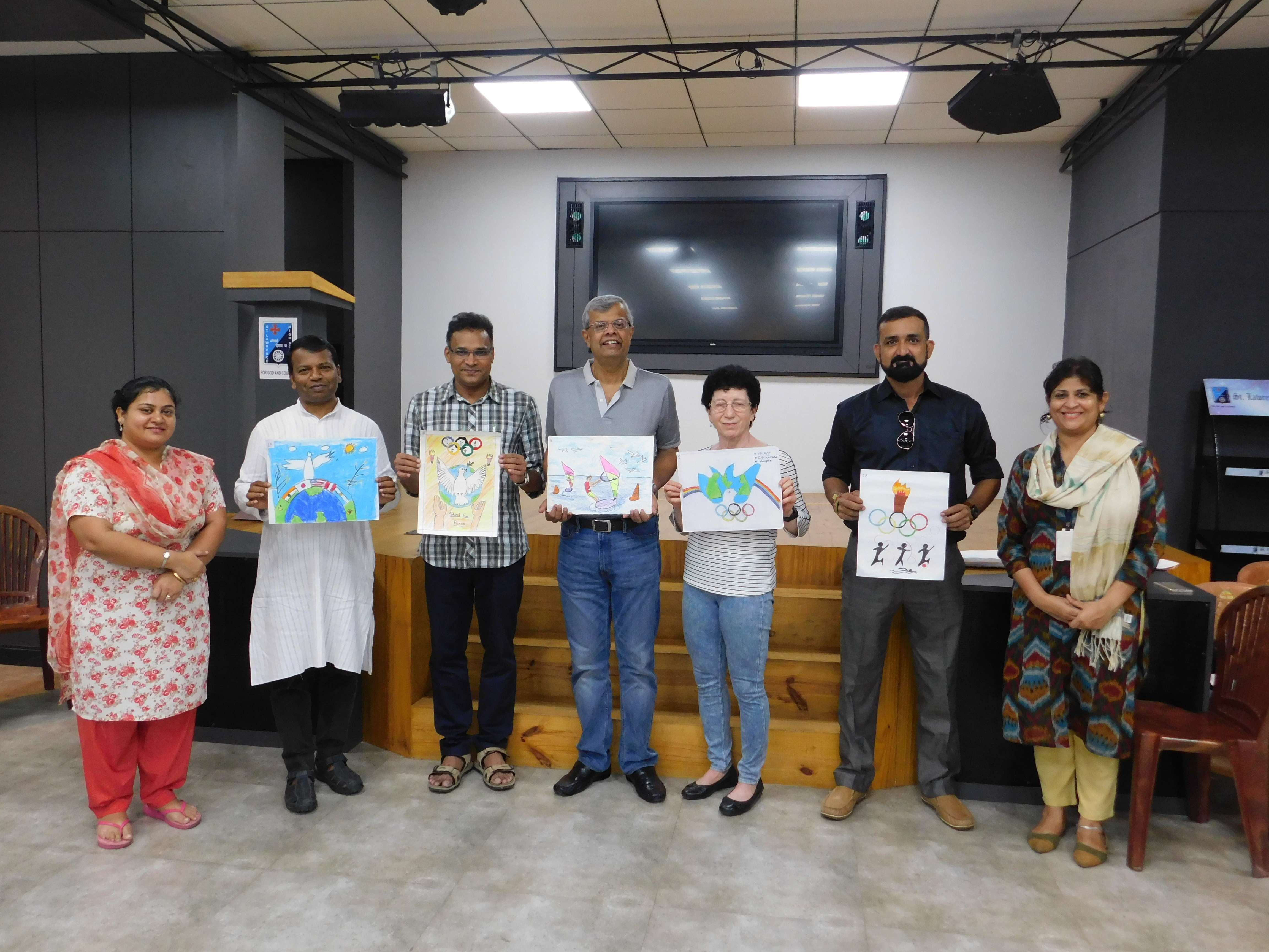 Expression 2019: Student Paintings on display in Michael Madhusudan Dutt Hall