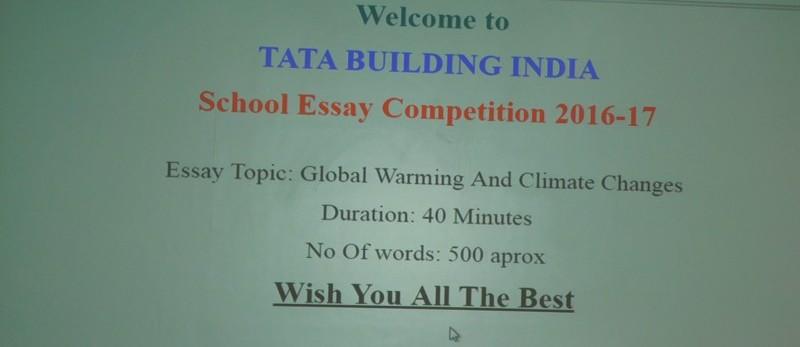 Tata Class Edge School Essay Competition 2017