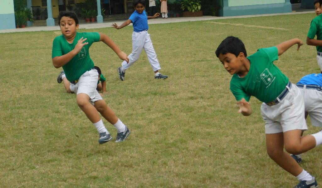 Inter House Football Match - Primary Section - 2017