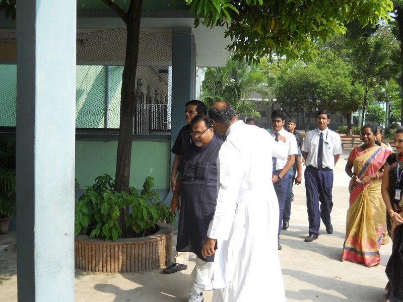 Education Minister Sri Partha Chatterjee's visit