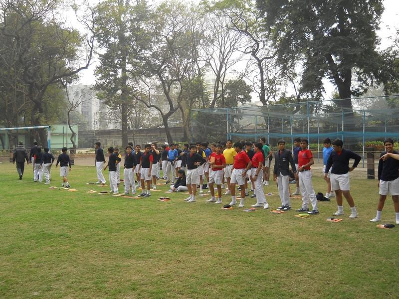 Physical Education class - Senior  section