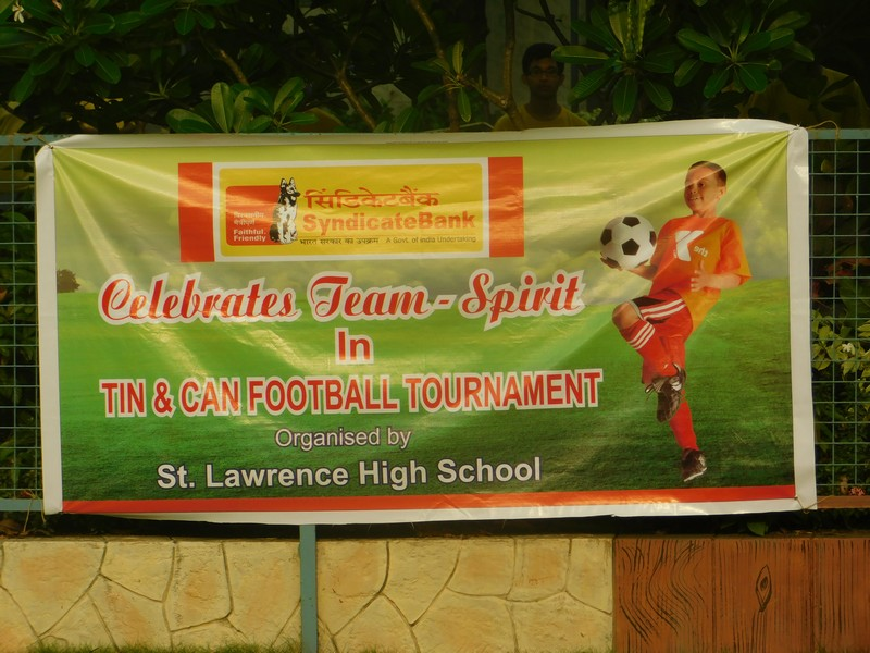 Tin and Can Football Tournament - 5th May 2018