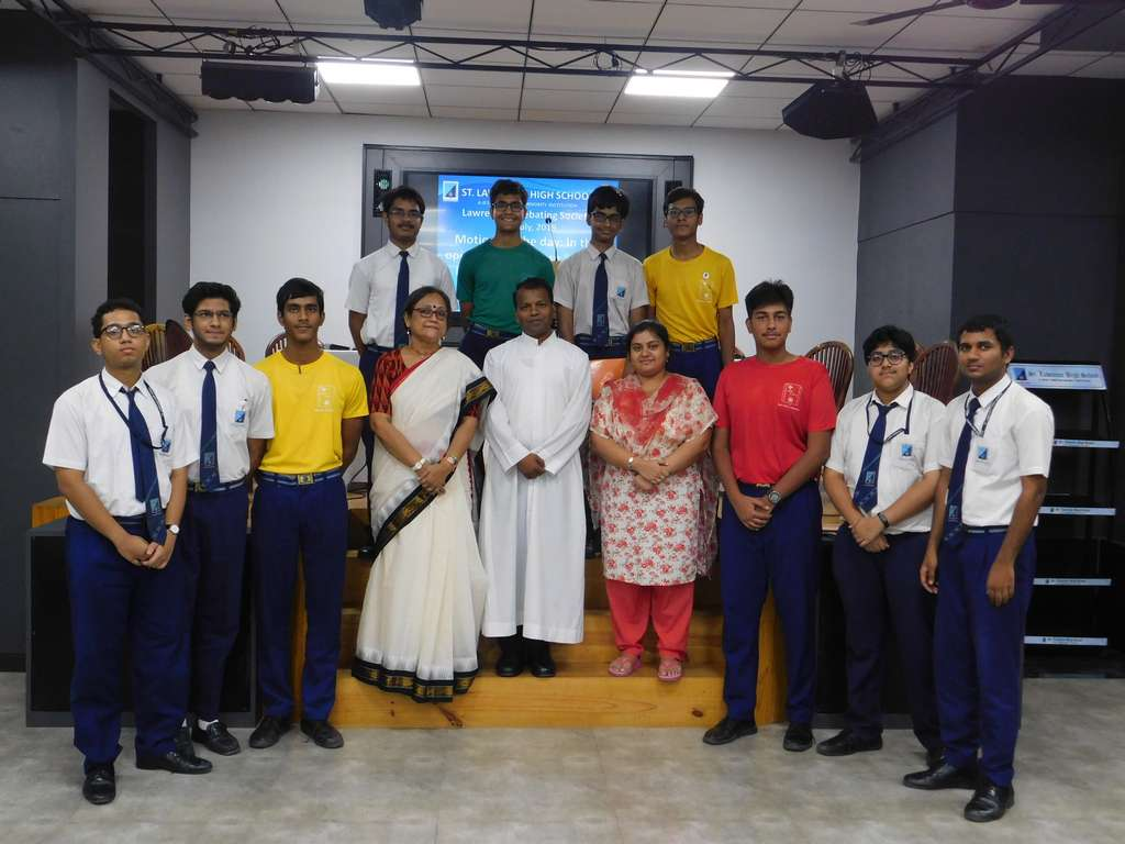 Debate Competition at Dr. Michael Madhusudan Dutt Hall: 12th July 2019