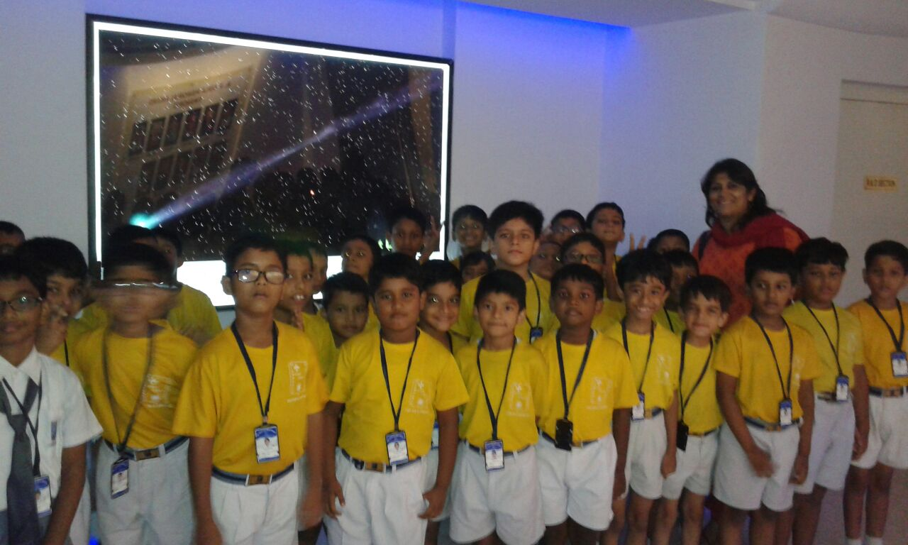 Winners of Founder's Day Competition - Primary Section students visit to Birla Planetarium