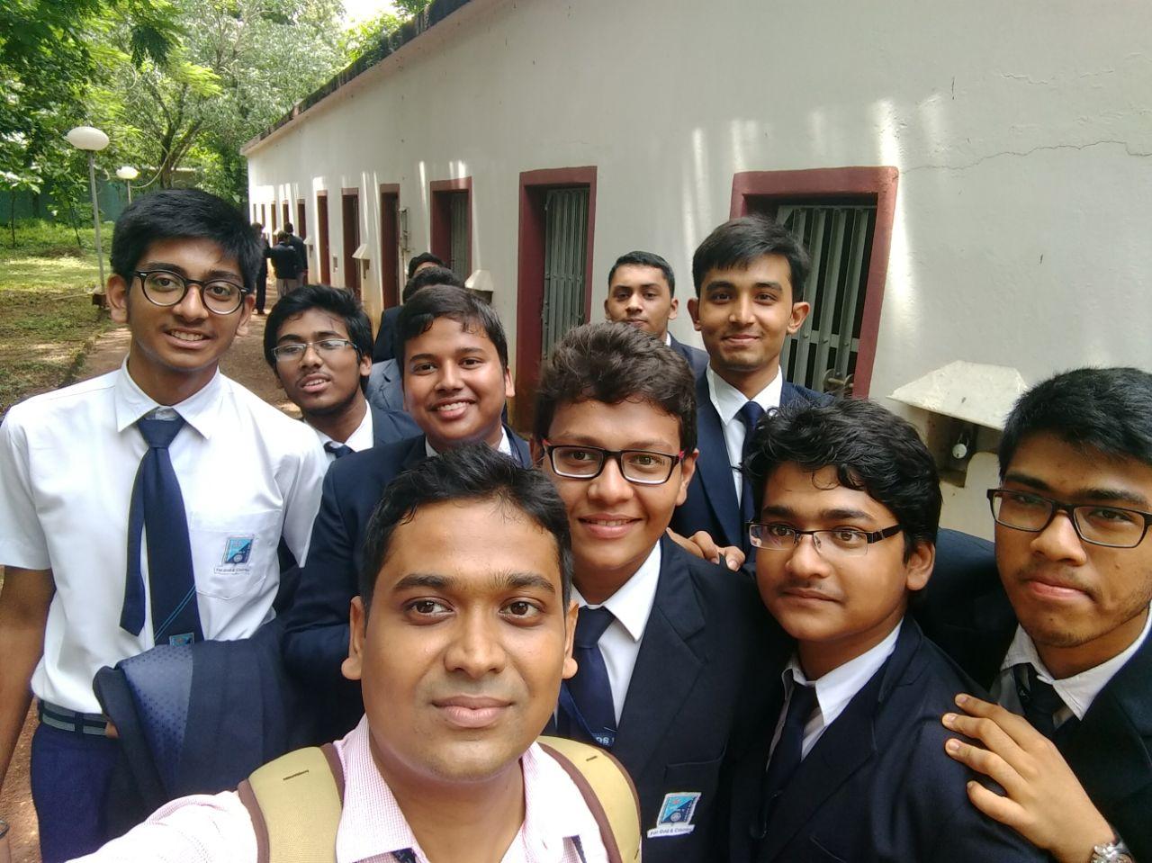 IIT Kharagpur Tour and Robotics Seminar