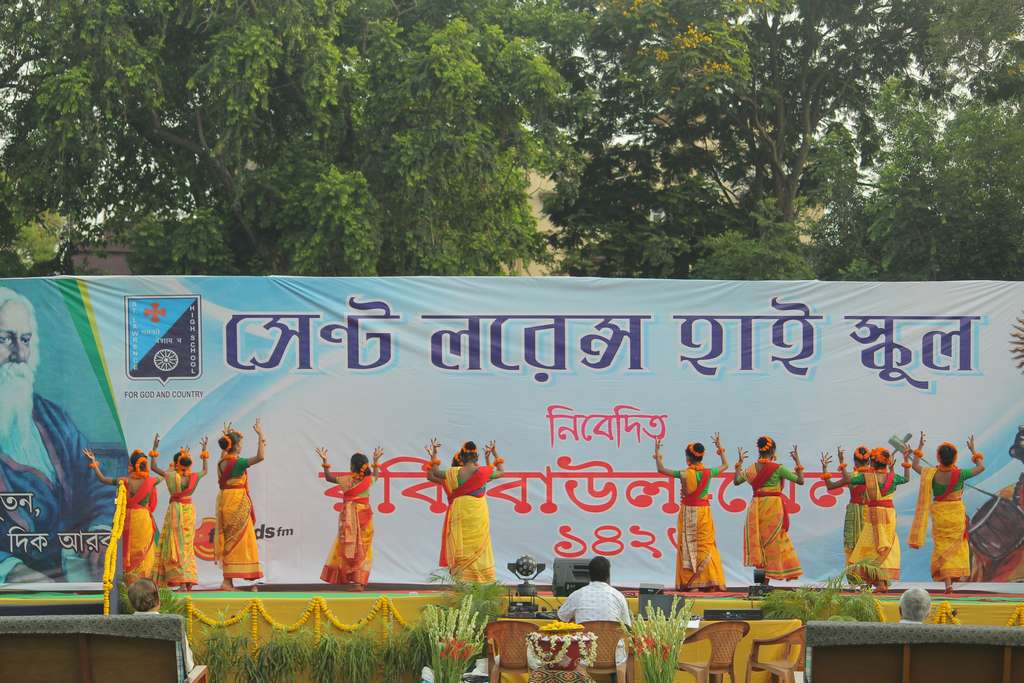 Robi - Baul - Mela on Wednesday 8th May 2019 at Aloysius Ground on the occasion of Rabindra Jayanti