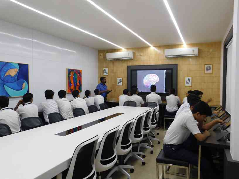 Dr. A. P. J. Abdul Kalam I-Pad Augmented Reality Lab for Students