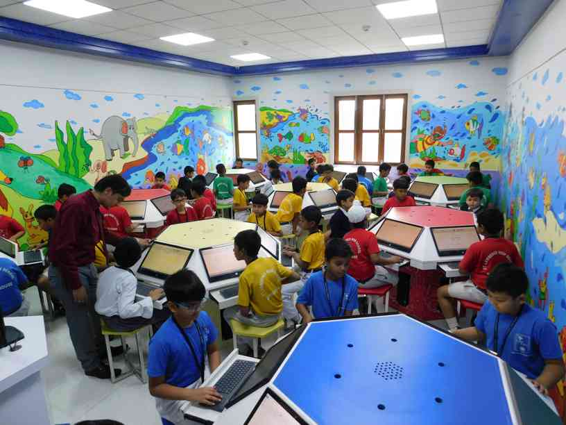 ARYABHATTA COMPUTER LAB: PRIMARY SECTION